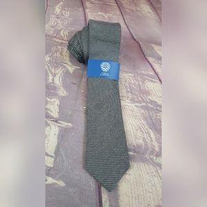 Mens Wool Blend Neck Tie Arturo Stripe